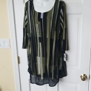 ALFANI NEW TUNIC BLOUSE